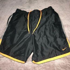 COPY - Black and orange Nike shorts